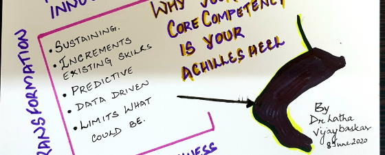 core competency as achilles heel